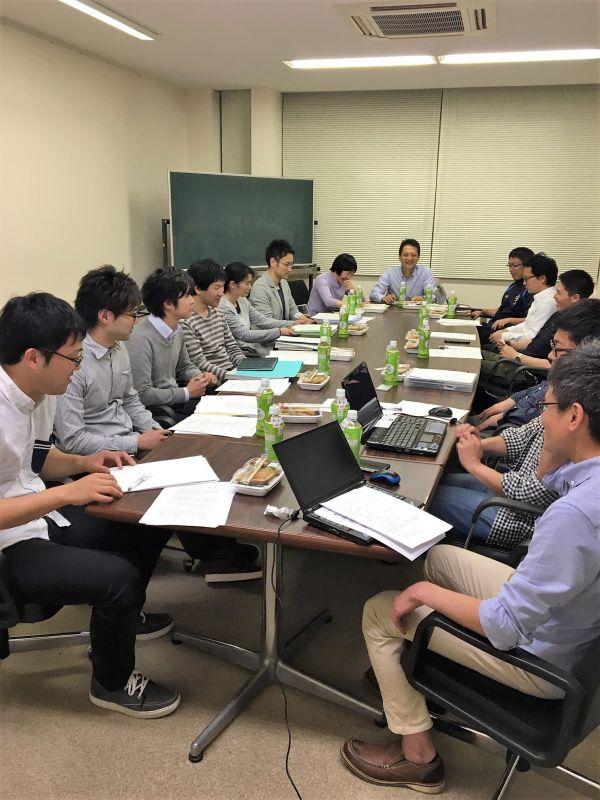 平成28年度第1回県中支部役員会開催