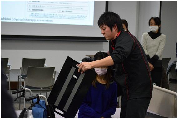 介護職員の包括的腰痛予防研修会(県南)