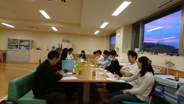 平成29年度第1回県南支部役員会の開催写真