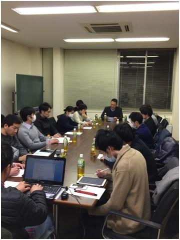平成29年度第3回県中支部役員会開催