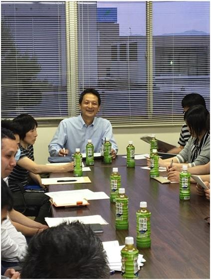 平成30年度第1回県中支部役員会開催