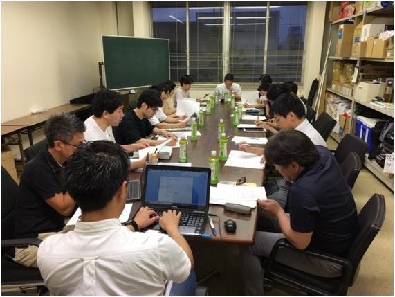 第1回県中支部役員会開催写真