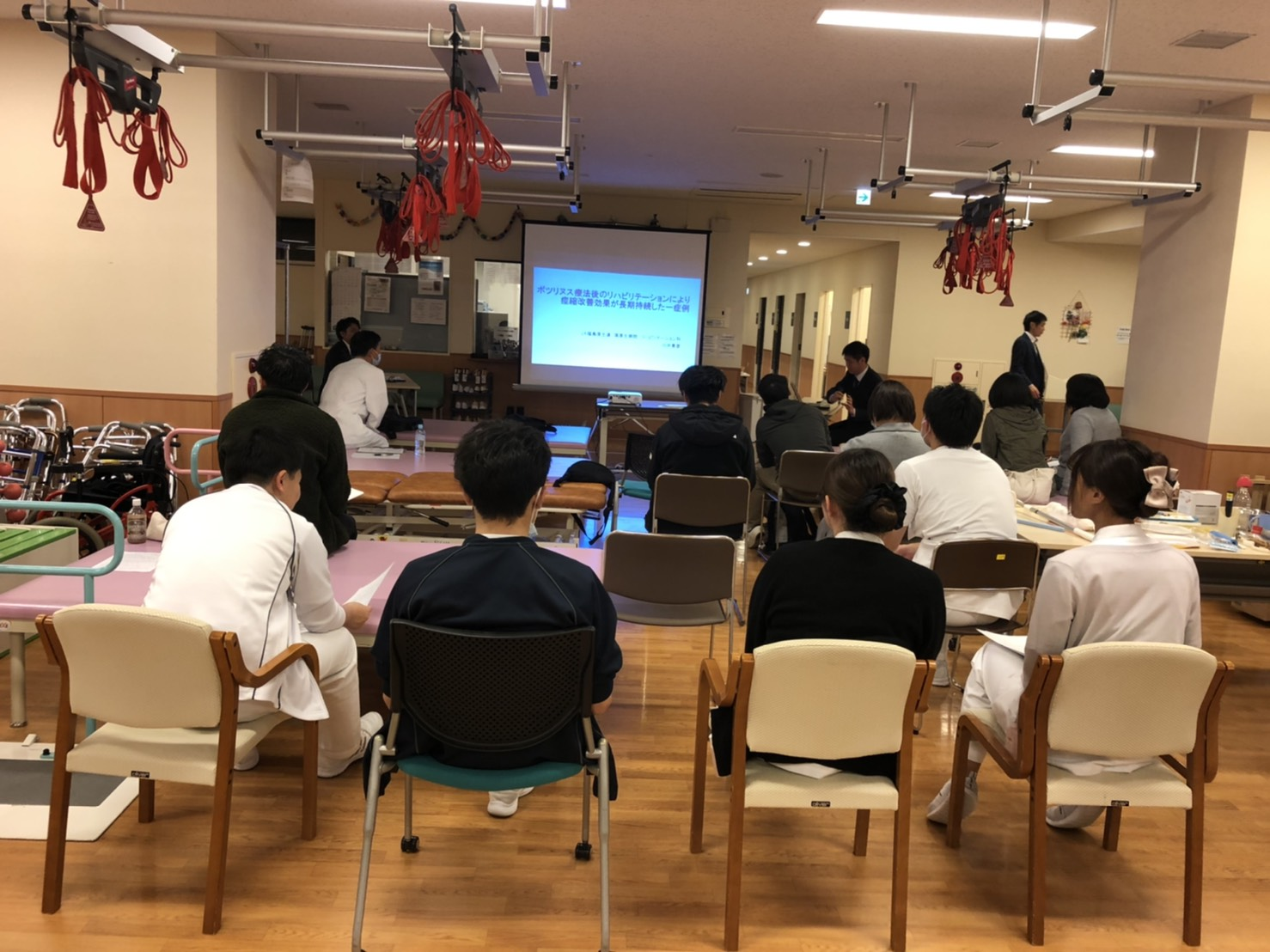 第1回県南支部症例検討会の開催写真